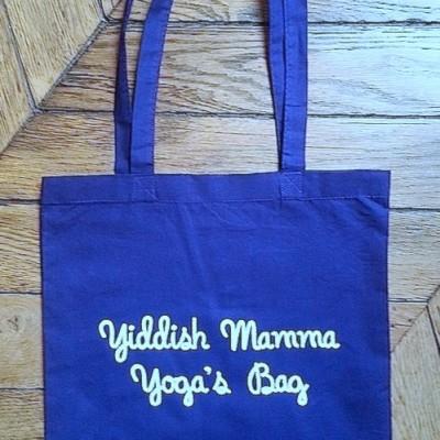 Yiddish Mamma Yoga's Bag