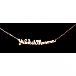 Bijoux collier Yiddish Mamma