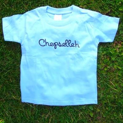 Tee shirt Chepselleh bleu enfant